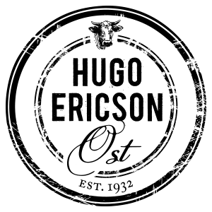Hugo Ericson Ost i Saluhallen Logotyp